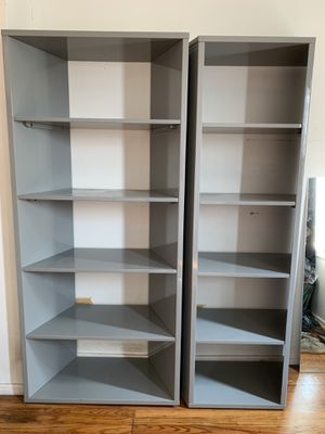 CB2 modern bookshelves for Sale in Oakland, CA