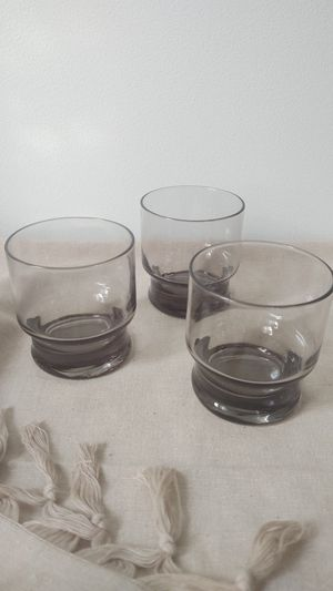 Vintage smokey glassware for Sale in Chicago, IL