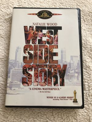 Classic movie musical west side story winner best picture in 1961 DVD in mint condition for Sale in Dutton, MI