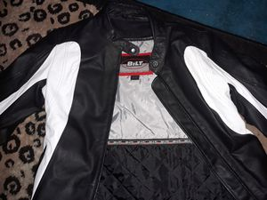 Bilt leather jacket bran new racing jacket for Sale in Phoenix, AZ
