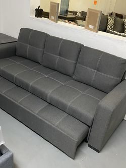 Gray Sofa With Pullout Bed ¡¡NEW!! for Sale in Phoenix,  AZ
