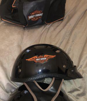 Harley Davidson Half Helmet DOT SZ L for Sale in Auburndale, FL