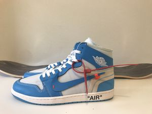 Off white x Nike air jordan 1 UNC for Sale in Bothell, WA