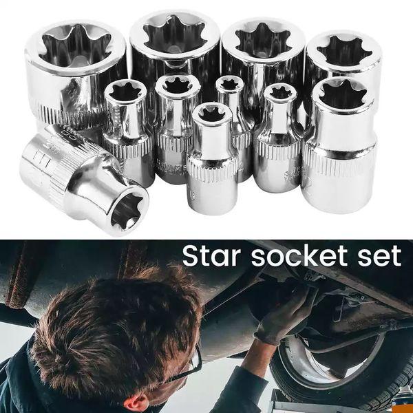 Torx star socket set 11pc, brand new