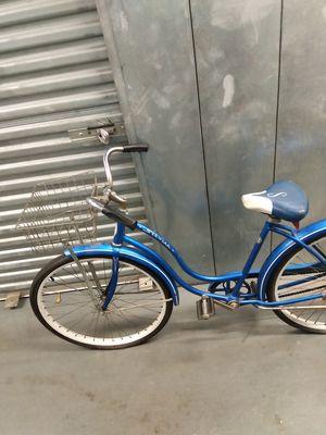 Vintage DIY Schwinn bicycle ladies woman's blue bike for Sale in Takoma Park, MD