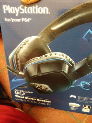 Ps4 gaming headphones for Sale in El Cajon, CA