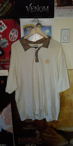 Burberry golf polo shirt XXL for Sale in Tacoma, WA