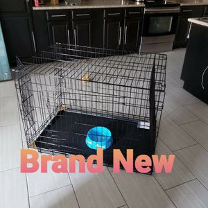 New Dog Kennel CLEAN LARGE Training Crate House Cage Phoenix for Sale in Tolleson, AZ