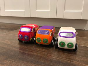 Plush Vehicles - baby toy for Sale in Lynnwood, WA