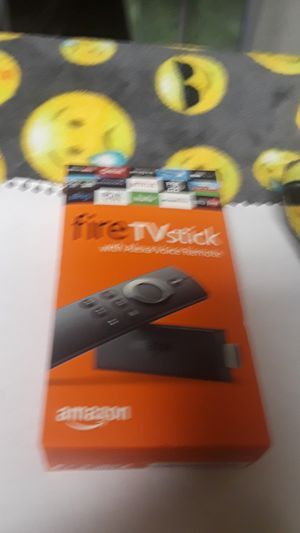 Fire TV Stick With Alexa Voice Remote for Sale in Baldwin Park, CA