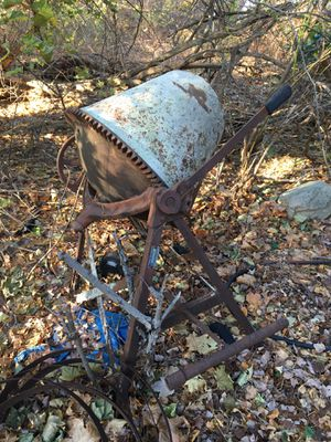 Antique Sears &Roebuck cement mixer,needs new electric motor,fix or scrap,you pick up for Sale in Wilmington, MA