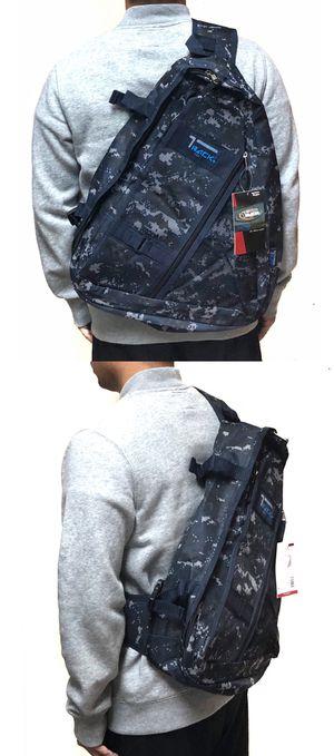 NEW! Camouflage sling Crossbody Bag Side Bag hiking trekking camping biking fishing work bag school bag gym bag edc backpack for Sale in Carson, CA