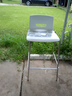 White bar stool for Sale in South Houston, TX