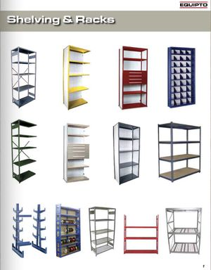 EQUIPTO Steel Shelving. DELIVERY and INSTALLATION AVAILABLE for Sale in Winchester, VA