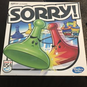 Sorry Board Game for Sale in Saint Paul, MN