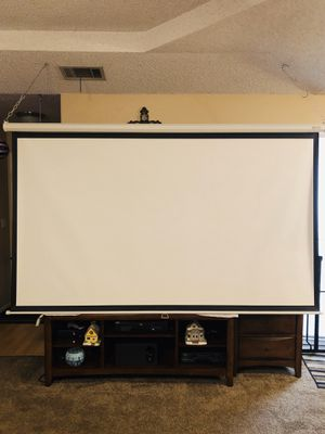 Projector Screen for Sale in Irving, TX