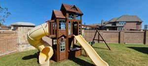 I clean and stain playsets for Sale in Dallas, TX