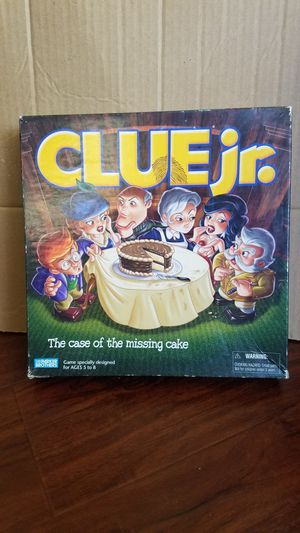 Clue Jr. Board Game for Sale in CTY OF CMMRCE, CA