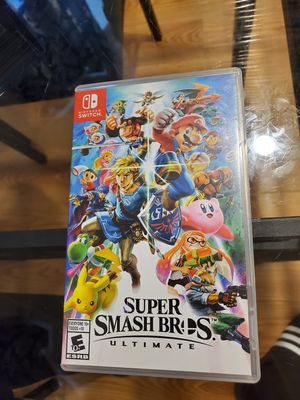 Nintendo Switch game Super smash bros for Sale in The Bronx, NY
