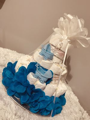 Diaper cake🎂🎁🥳boy for Sale in Maryland Heights, MO
