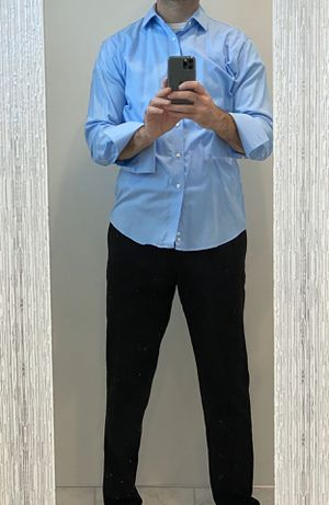Great modern dress shirt to be worn with cufflinks - M for Sale in Fairfax, VA