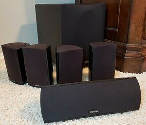 Definitive Pro 600 5.1 Audio System + 2 Stands for Sale in Des Plaines, IL