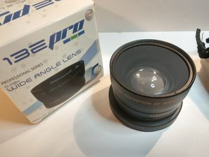 0.43x HD Wide Angle Lens. 58mm. Brand New. for Sale in Fort Lauderdale, FL