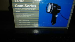 Video camcorder light for Sale in Columbus, OH