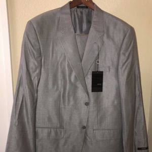 Alfani Macy's Men's 2 piece Suit and Pants NEW Pearl Grey (Retail $425) for Sale in Rancho Cucamonga, CA