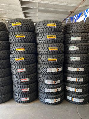 MUD TIRES ON SALE WE CARRY ALL BRANDS SIZE CALL NOW for Sale in Brentwood, CA