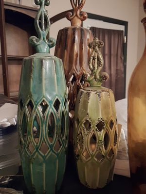Moving, the lamps are a pair. Make an offer! for Sale in Stonecrest, GA