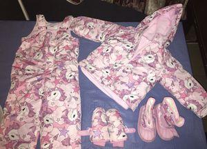 Snow suit & boots for Sale in Phoenix, AZ