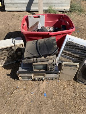 FREE Assorted tape recording to heaters tv monitors etc. for Sale in Fresno, CA