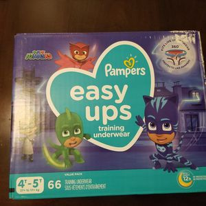 Pampers Easy Ups 4t-5t 66 Count for Sale in Bell, CA