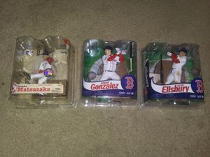 3 red sox McFarlane toys action figures for Sale in Las Vegas, NV