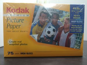Kodak premium picture paper for Sale in Salt Lake City, UT