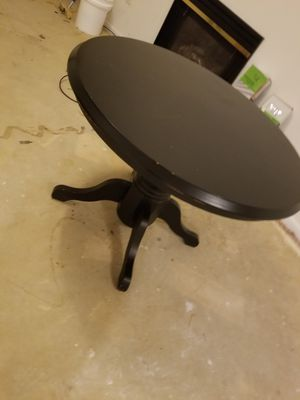 Black Table with 3 chairs for Sale in Bowie, MD