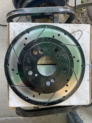 Pair (2) Drilled and Slotted Rotors for Sale in Sanger, CA