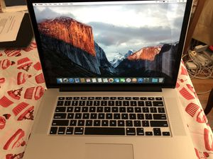 """MacBook Pro mid 2012 15"""" excellent shape. for Sale in Woodbridge, VA"""