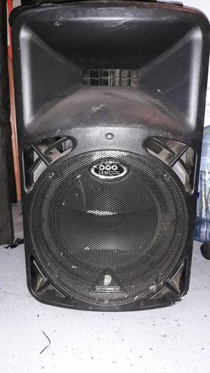 "DJ pre amp speakers two 12"" 600watts each for Sale in Portland, OR"