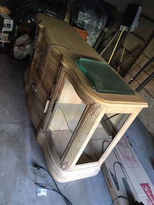 Hutch china cabinet free for Sale in Orange, CA