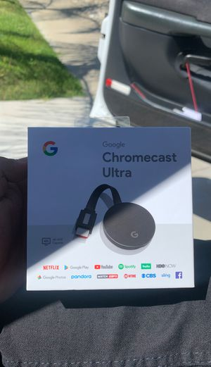 Chromecast ultra brand new for Sale in Banning, CA