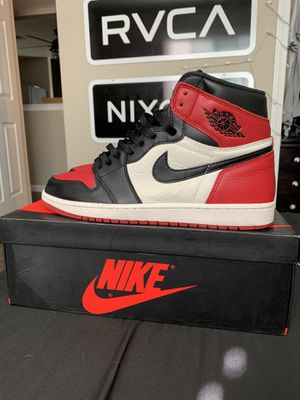 Jordan 1 Bred Toe for Sale in Fresno, CA