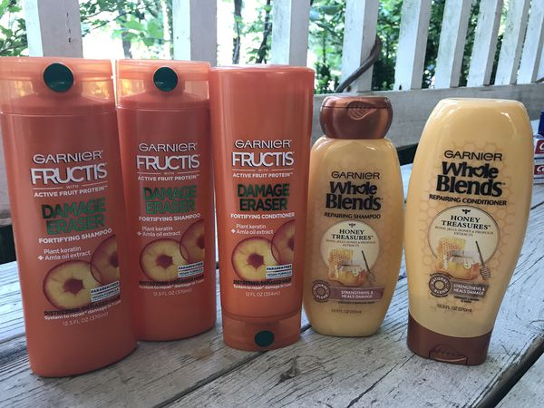 Garnier Shampoos and Conditioners