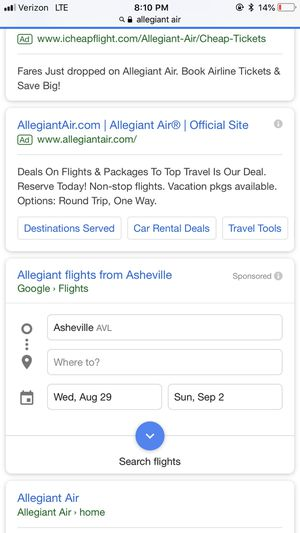 plane tickets for Sale in Knoxville, TN
