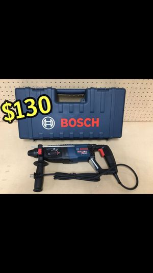 BRAND NEW Bosch Bulldog Xtreme SDS-Plus 8-Amp Keyless Rotary Hammer $130 price is firm No offers Set price Robust 8.0 Amp rotary hammer – deliver for Sale in Los Angeles, CA