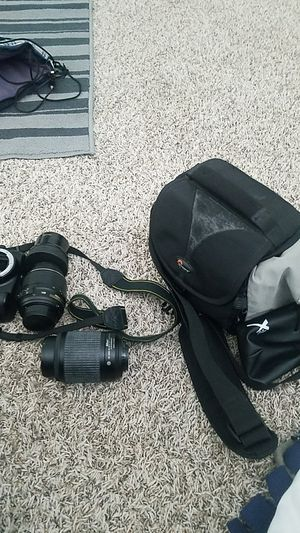 Nikon D3100,with lenses for Sale in Manteca, CA