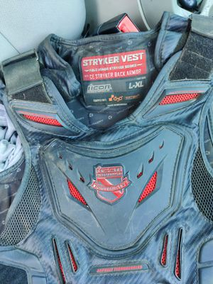 Motorcycle vest stryker OBO must go for Sale in Lincoln Acres, CA
