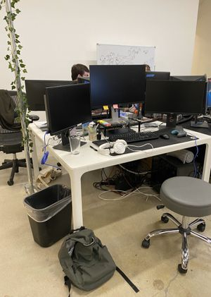 Ikea Bekant Conference Table / Desk - White for Sale in Culver City, CA