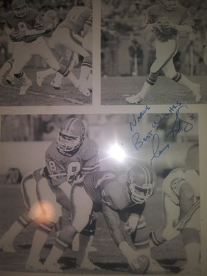 Gary kubiak personalized autograph when he was qb for Sale in Denver, CO